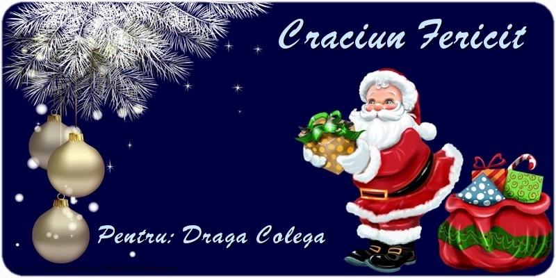 Felicitari frumoase de Craciun pentru Colega | Craciun Fericit draga colega