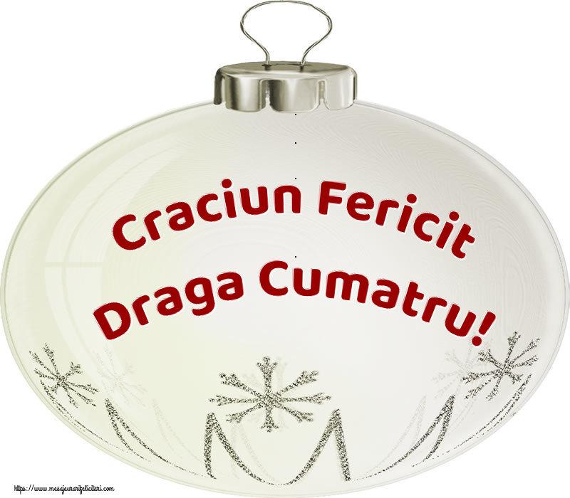 Felicitari frumoase de Craciun pentru Cumatru | Craciun Fericit draga cumatru!