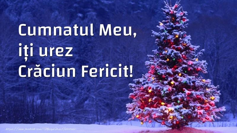 Felicitari frumoase de Craciun pentru Cumnat | Cumnatul meu, iți urez Crăciun Fericit!