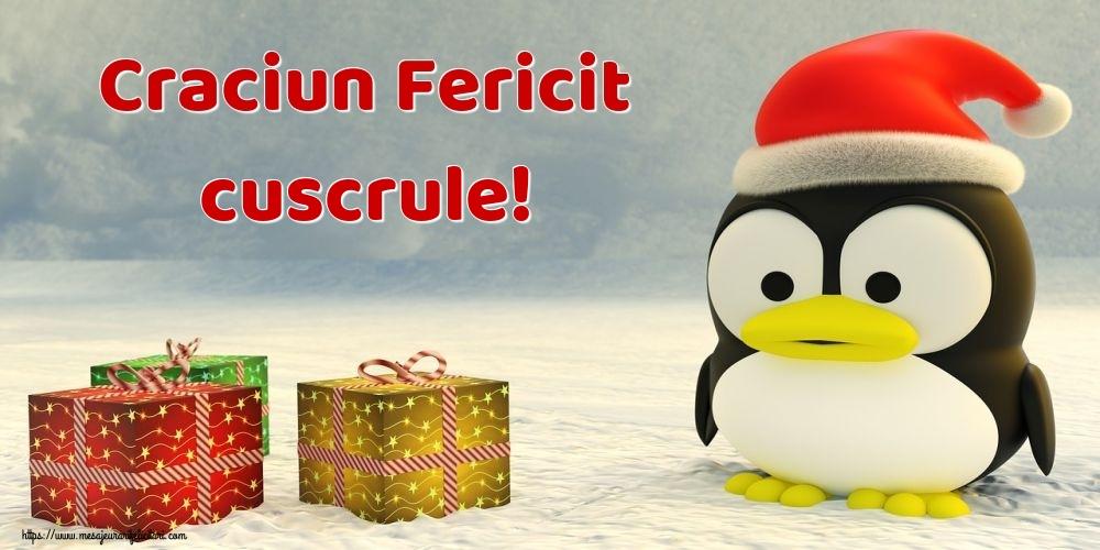 Felicitari frumoase de Craciun pentru Cuscru | Craciun Fericit cuscrule!