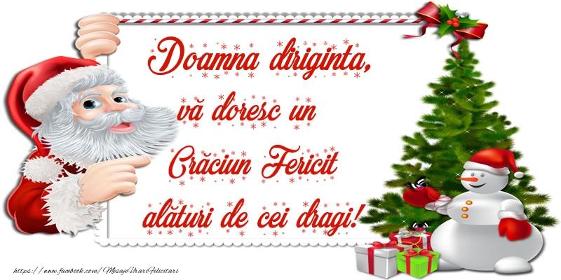 Felicitari frumoase de Craciun pentru Diriginta | Doamna diriginta, vă doresc un Crăciun Fericit alături de cei dragi!