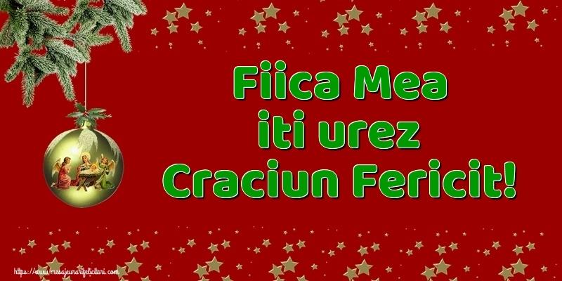 Felicitari frumoase de Craciun pentru Fata | Fiica mea iti urez Craciun Fericit!