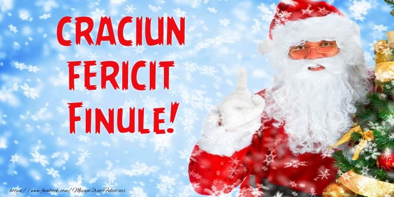 Felicitari frumoase de Craciun pentru Fin | Craciun Fericit finule!
