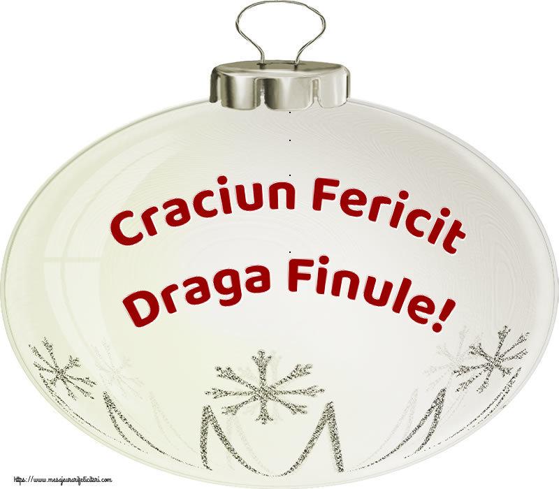 Felicitari frumoase de Craciun pentru Fin | Craciun Fericit draga finule!