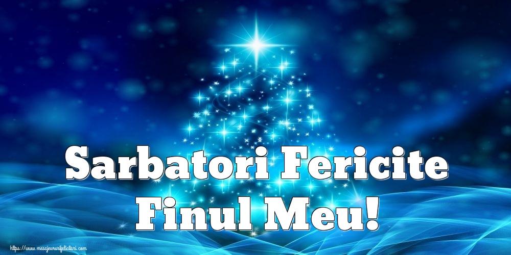 Felicitari frumoase de Craciun pentru Fin | Sarbatori Fericite finul meu!