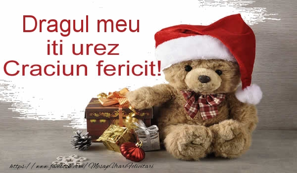 Felicitari frumoase de Craciun pentru Iubit | Dragul meu iti urez Craciun fericit!