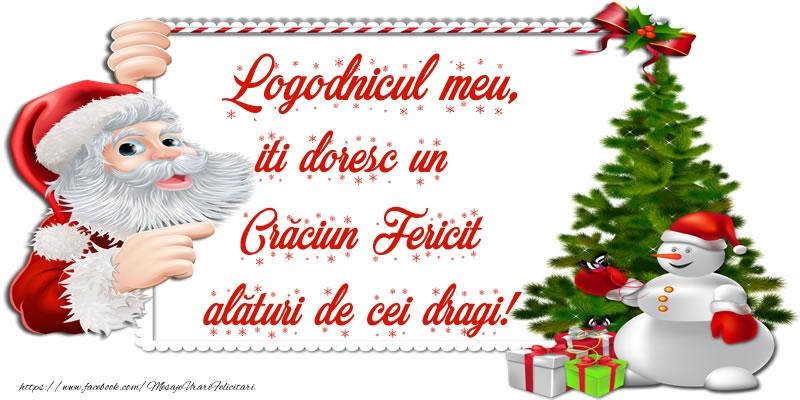 Felicitari frumoase de Craciun pentru Logodnic | Logodnicul meu, iti doresc un Crăciun Fericit alături de cei dragi!