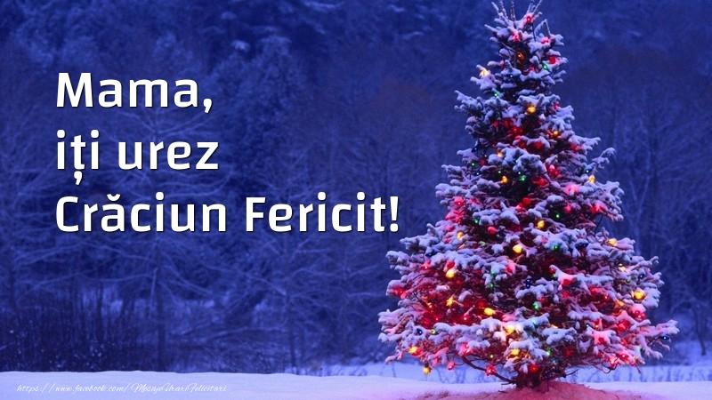 Felicitari frumoase de Craciun pentru Mama | Mama, iți urez Crăciun Fericit!