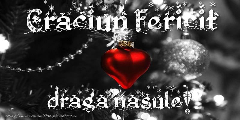 Felicitari frumoase de Craciun pentru Nas | Craciun Fericit draga nasule!