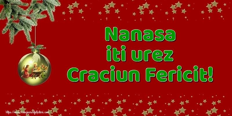 Felicitari frumoase de Craciun pentru Nasa | Nanasa iti urez Craciun Fericit!