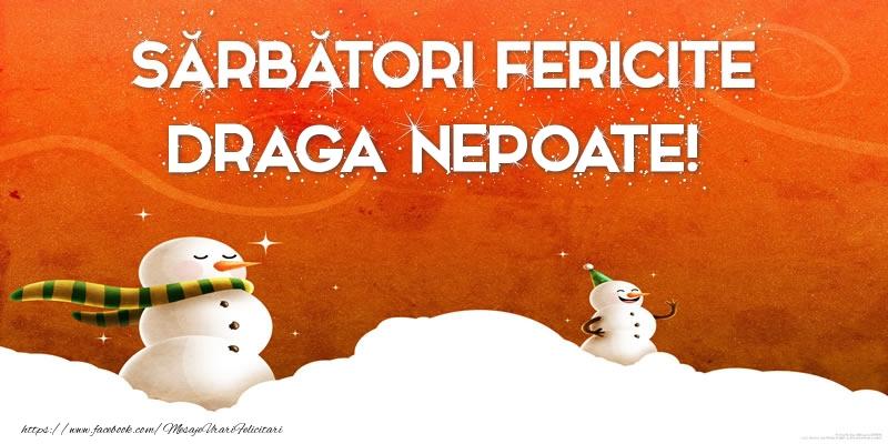 Felicitari frumoase de Craciun pentru Nepot | Sărbători Fericite draga nepoate!