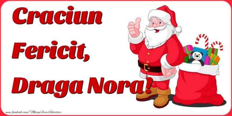 Felicitari frumoase de Craciun pentru Nora | Craciun Fericit, draga nora