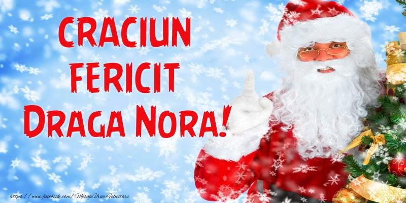 Felicitari frumoase de Craciun pentru Nora | Craciun Fericit draga nora!