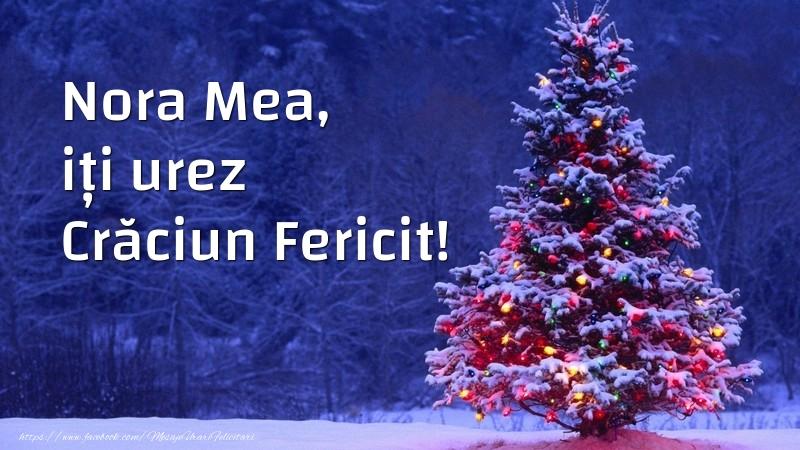 Felicitari frumoase de Craciun pentru Nora | Nora mea, iți urez Crăciun Fericit!