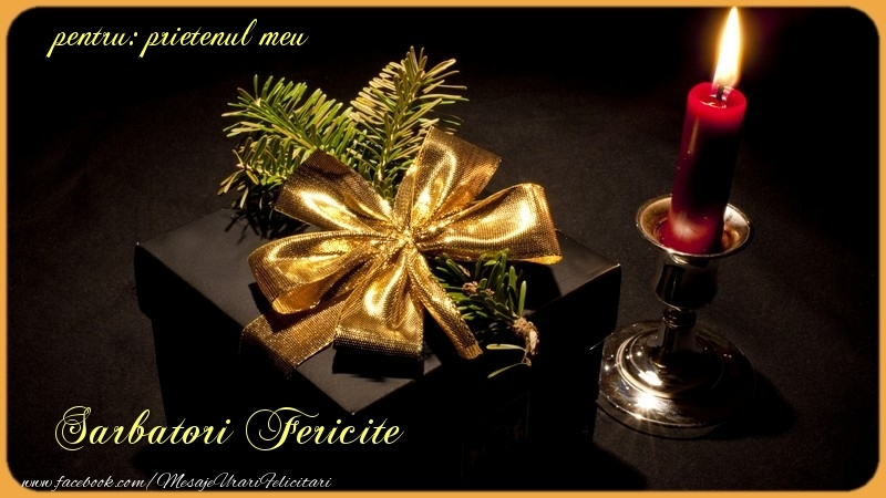 Felicitari frumoase de Craciun pentru Prieten | Sarbatori Fericite prietenul meu