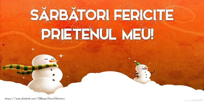 Felicitari frumoase de Craciun pentru Prieten | Sărbători Fericite prietenul meu!