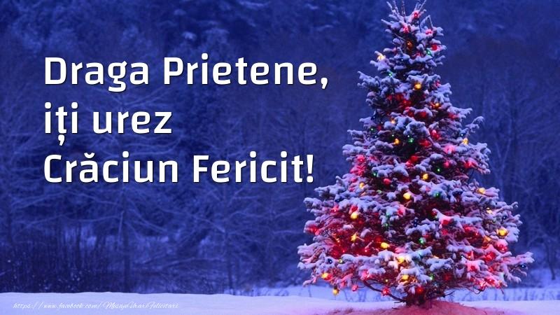 Felicitari frumoase de Craciun pentru Prieten | Draga prietene, iți urez Crăciun Fericit!