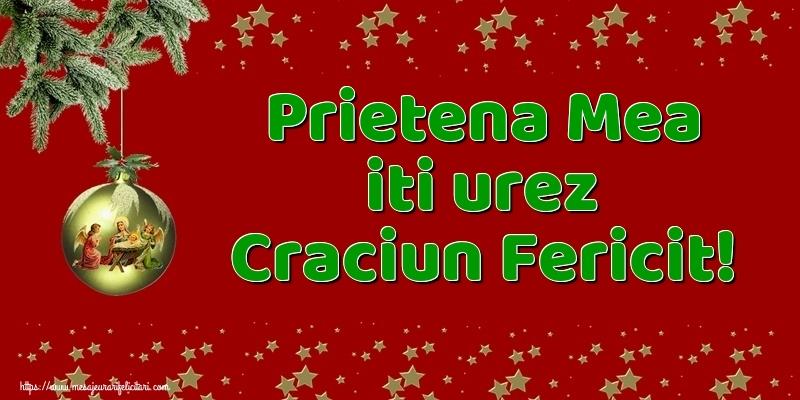 Felicitari frumoase de Craciun pentru Prietena | Prietena mea iti urez Craciun Fericit!