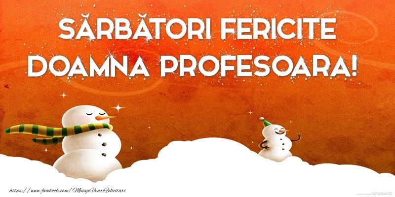 Felicitari frumoase de Craciun pentru Profesoara | Sărbători Fericite doamna profesoara!