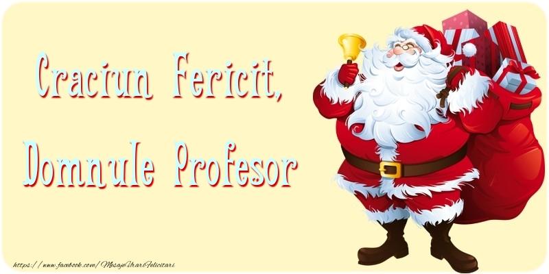 Felicitari frumoase de Craciun pentru Profesor | Craciun Fericit, domnule profesor