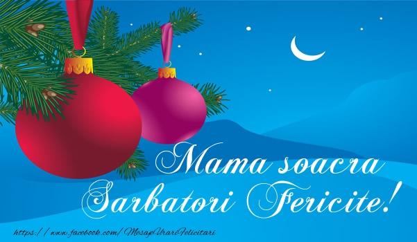 Felicitari frumoase de Craciun pentru Soacra | Mama soacra Sarbatori fericite!