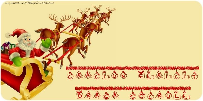 Felicitari frumoase de Craciun pentru Socru | CRACIUN FERICIT draga socrule