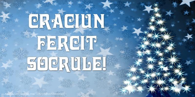 Felicitari frumoase de Craciun pentru Socru | Craciun Fericit socrule!