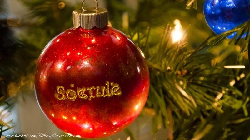 Felicitari frumoase de Craciun pentru Socru | Nume pe glob socrule