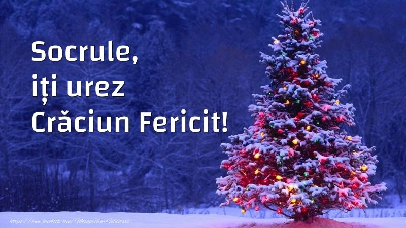 Felicitari frumoase de Craciun pentru Socru | Socrule, iți urez Crăciun Fericit!