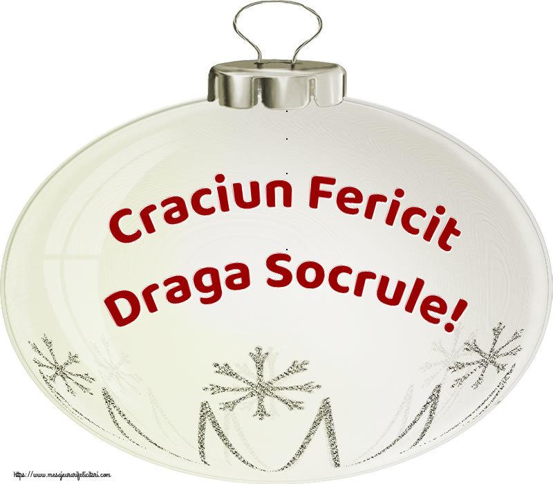 Felicitari frumoase de Craciun pentru Socru | Craciun Fericit draga socrule!