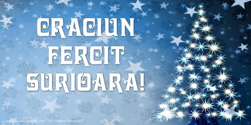 Felicitari frumoase de Craciun pentru Sora | Craciun Fericit surioara!