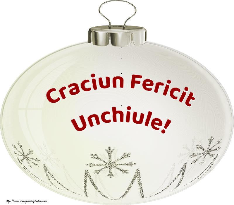 Felicitari frumoase de Craciun pentru Unchi | Craciun Fericit unchiule!