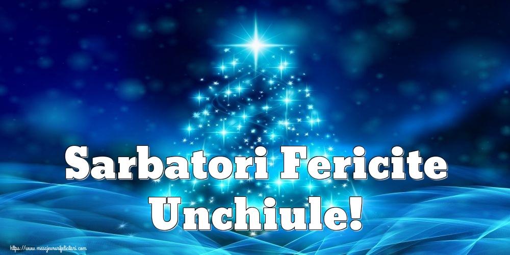 Felicitari frumoase de Craciun pentru Unchi   Sarbatori Fericite unchiule!