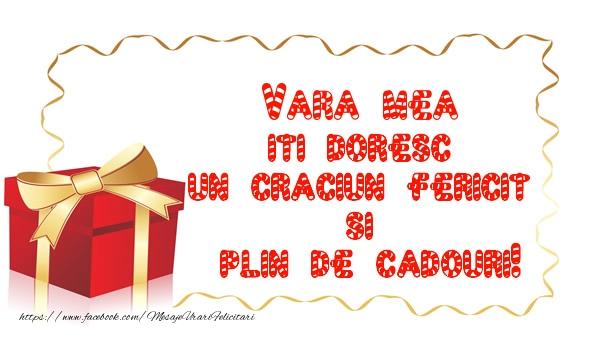 Felicitari frumoase de Craciun pentru Verisoara | Vara mea iti doresc un Craciun Fericit  si  plin de cadouri!