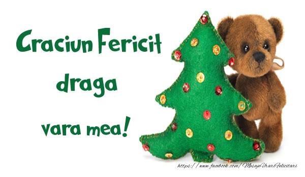Felicitari frumoase de Craciun pentru Verisoara | Craciun Fericit draga vara mea!