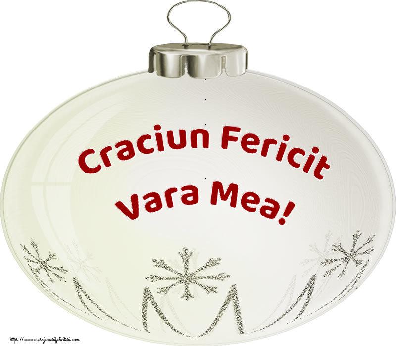 Felicitari frumoase de Craciun pentru Verisoara | Craciun Fericit vara mea!