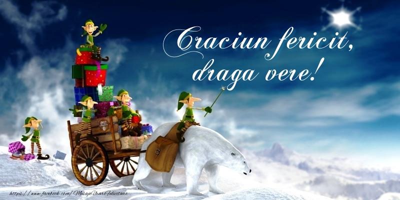 Felicitari frumoase de Craciun pentru Verisor | Craciun fericit, draga vere!