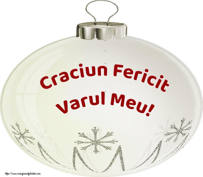 Felicitari frumoase de Craciun pentru Verisor | Craciun Fericit varul meu!