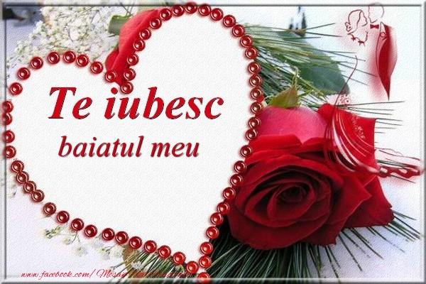 Felicitari frumoase de Dragobete pentru Baiat | Te iubesc  baiatul meu