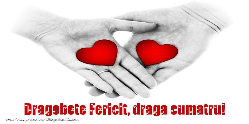 Felicitari frumoase de Dragobete pentru Cumatru | Dragobete Fericit, draga cumatru!