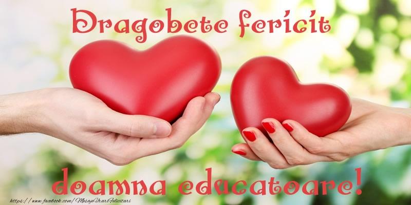 Felicitari frumoase de Dragobete pentru Educatoare | Dragobete fericit doamna educatoare!