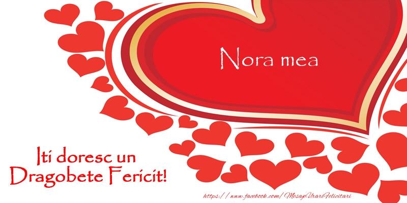 Felicitari frumoase de Dragobete pentru Nora | Nora mea iti doresc un Dragobete Fericit!