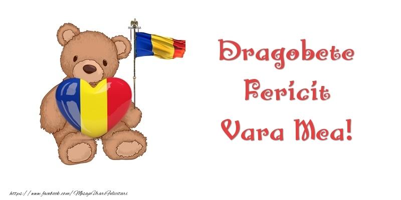 Felicitari frumoase de Dragobete pentru Verisoara | Dragobete Fericit vara mea!