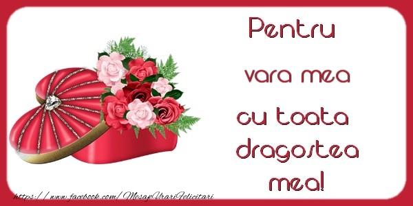 Felicitari frumoase de Dragobete pentru Verisoara | Pentru vara mea cu toata dragostea mea!