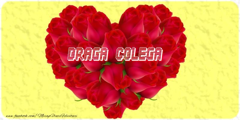 Felicitari frumoase de dragoste pentru Colega | Draga colega