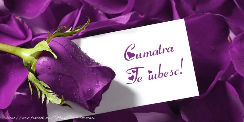 Felicitari frumoase de dragoste pentru Cumatra | Cumatra Te iubesc!