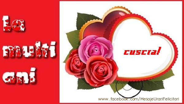 Felicitari frumoase de dragoste pentru Cuscra | La multi ani cuscra!
