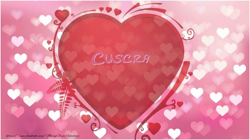 Felicitari frumoase de dragoste pentru Cuscra | Inima cuscra