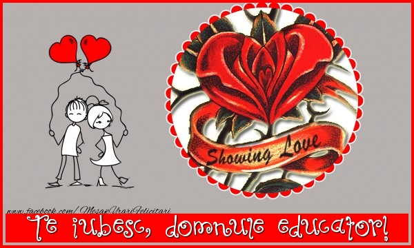 Felicitari frumoase de dragoste pentru Educator | Te iubesc, domnule educator!