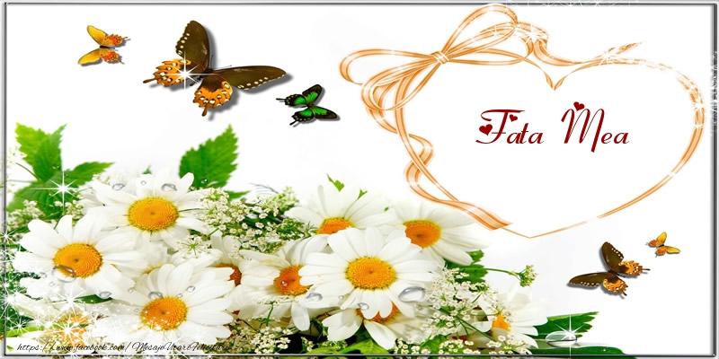 Felicitari frumoase de dragoste pentru Fata | I love you fata mea!